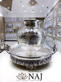 When you go to a stor Silver Pooja Items, South Indian Jewellery, Silver Gifts, Gold Pearl, Hyderabad, Chennai, Antique Silver, Temple, Jewelry Design