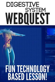 Teaching your unit covering digestion doesn't have to be overwhelming or boring. My students love this webquest activity and I bet yours will too! Your students will be having fun and learning as they take an interactive tour on the internet and complete