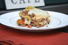 Lasagna Bolognese by Delishhh, via Flickr