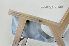 Projet étudiant : Lounge Chair par Tamara Svonja - Expolore the best and the special ideas about Lounge chairs Chair Design Wooden, Design Furniture, Plywood Furniture, Cool Furniture, Wooden Chairs, Deck Chairs, Cool Chairs, Dining Chairs, Bag Chairs