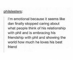 I blame the Phan shippers<<<Yep we're responsible for it