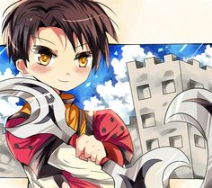 Kyril from Suikoden Tactics by ~miacis83