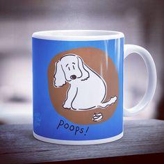 @jojopowpowpetlovers sur Instagram : Poops! Mug 🐶 jojopowpow.com