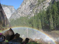 Rainbow at Vernal Falls, Yosemite, CA