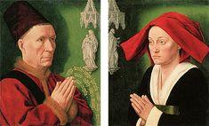 Portrait d'Hugues de Rabutin et de Jeanne Montaigu, vers 1470, Maître de Saint-Jean-de-Luze