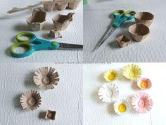artesanias con material reciclado | Manualidades con reciclaje !