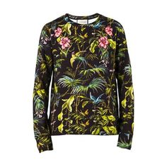 2b53af6de GUCCI 'Tropical' Print Sweater (107865 RSD) ❤ liked on Polyvore featuring  men's