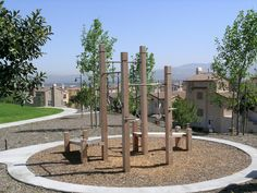 TimberForm Fitness Cluster, Group A (modified). Made By Columbia Cascade  Company  . Fitness EquipmentColumbiaBackyardPatioGym ...