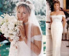 Barbra Streisand Wedding Dress | Barbara Streisand, Singer, Actress, Director