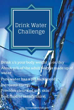 Drink More Water October Challenge. Drink at least of your body weight in ounces and get more hydrated this month. Join our challenge. Water Challenge, Workout Challenge, Pet Health, Health And Wellness, Health Tips, Bottled Water Delivery, Massage Marketing, Fitness Nutrition, Nutrition Tips