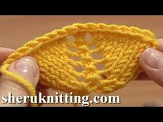 How to Increase In Knitting Using Yarn Overs Tutorial 8 Part 11 of 14 Decorative Increasing - YouTube