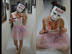 DISFRAZ PARA HALLOWEEN /MÁSCARA THE PURGE 3 / CANDY GIRL - YouTube