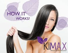 A revolutionary hair treatment service that was originally developed in Brazil, KiMAX Keratin Smoothing Treatment infuses and bonds ProB5 TriProtein Complex into and onto the cuticle layer of the hair shaft.  Combined with amino acids, silicones and anti-static agents, the results are quite simply remarkable; incredible shine, smoothness, enhanced strength and condition, frizz free and humidity proofed.