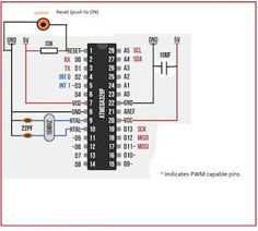 Make Arduino on Breadboard | Electronic Circuit Projects