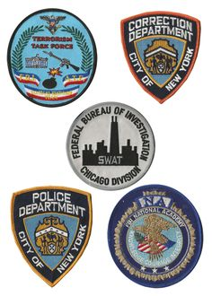 NASA Police Patches - Pics about space