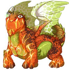 nauticalamity's dragon Fireweed - Breed, raise, and train dragons on Flight Rising!