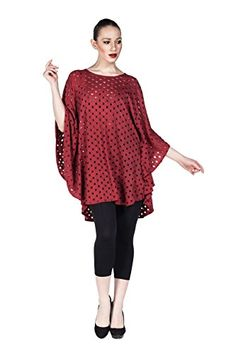 Women's 2016 Fashion Tunic Top Blouse with Batwing Sleeve Flowy Perforated Tunic Shirt (Red) LuckyBEBE http://www.amazon.com/dp/B01DQFL4KA/ref=cm_sw_r_pi_dp_np1.wb0E74K2J