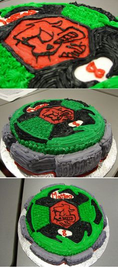 #Beyblade #Cake
