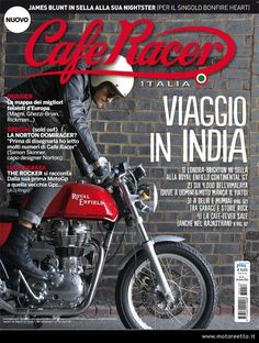 In cima al mondo! I passi dell'India in Royal Enfield su Café Racer Royal Enfield India, Big Boyz, Street Tracker, Biker Style, Brighton, Cafe Racers, Motorcycles, Cars, Cover