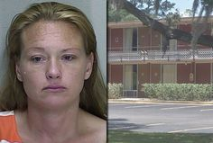 OCALA -- Woman gives birth in a motel bathtub while on a drug binge, chews through the umbilical cord with her teeth. She called her boyfriend, who was out running an errand, to tell him to hurry back, but he was pulled over for speeding and cops discovered he was wanted in Colorado for attempted murder. (April 2012)