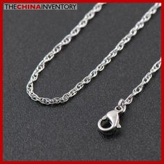 1.8MM 18` STAINLESS STEEL TRIPLE CHAIN NECKLACE N2613