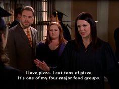 I love pizza. #gilmore