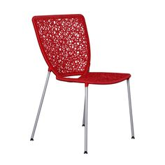 DOUBLE D DINING CHAIR RED