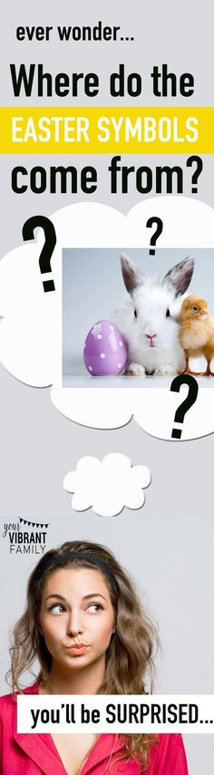 Where do the Easter symbols like the Easter bunny, Easter eggs, pastel colors, Easter lilies and more come from? I was totally surprised (and encouraged!) by this post on the true history of Easter!