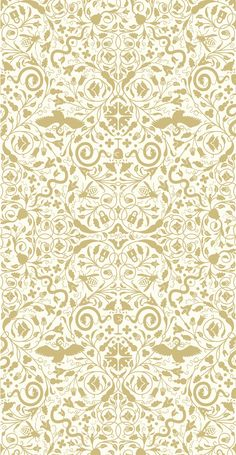 Secret Garden: Pearl Gold WallpaperSeriously obsessed with flavor paper wallpaper.