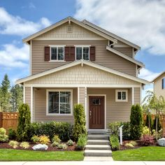 Perfect front door by Lennar Seattle