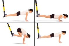 Full-body TRX workout - (Side Plank)