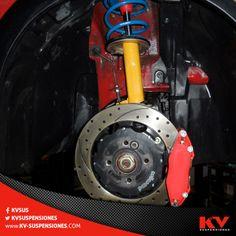 Los amortiguadores Koni son fabricados con altos estándares de calidad, por eso es que te damos garantía de por vida al comprarlos con nosotros.