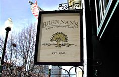 Brennan's Pub Sign on Site in St. Louis