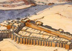 Ancient Egyptian Architecture, Architecture Antique, Architecture Concept Drawings, Ancient Egyptian Art, Ancient History, Luxor Temple, Alexandria Lighthouse, Turm Von Babylon, Arquitetura