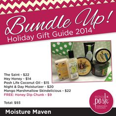 The holidays are the perfect time to pamper those you love. Get this bundle and get a FREE Honey Dip Chunk!
