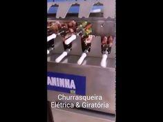 Máquina de Churrasquinho Italianinha Italianinha - Elétrica & Giratória - Vendas (48) 3338-4664 - WhatsApp 48 9693-8114 www.grupoitalianinha.com.br