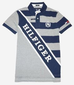 Tommy Hilfiger Mens Classic Fit Short Sleeve Logo Polo Shirt – L – Strong Orange/Navy Sports Polo Shirts, Shirt Outfit, T Shirt, Workout Shorts, Fit Men, Tommy Hilfiger, Sportswear, Gym Fitness, Polo Ralph Lauren