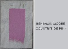Benjamin Moore Countryside Pink