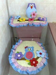 artesanato em feltro para banheiro - Pesquisa Google