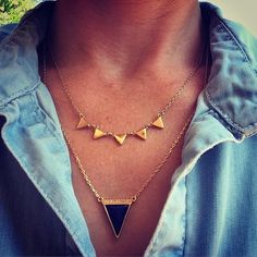 Not much makes us happier than some perfectly paired delicate layers No fuss no muss on Monday morning! #stelladotstyle. Grab the look through link above.