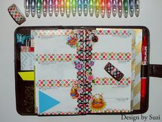 The week nr. 26 - colorful week with polka dots and beatles #planner