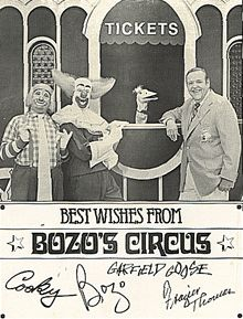 Best Wishes from Bozo's Circus