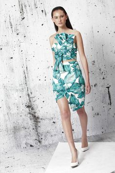 Cameo The Label Bustier Lily Palm