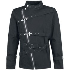 Buckle Jacket by Gothicana by EMP