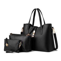 Luxury Black 3pc Bag Set – Sweet Bags and Bits