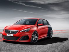 2013 Peugeot 308 R Concept car. Racing car styling. Sporty design. http://bartebben.com/parts/peugeot/308.html