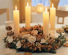 Adventní věnce nejen rozzáří váš byt, ale i navodí krásnou vánoční atmosféru...