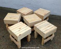 Recycled-Pallet-Stools.jpg 610×499 pixels