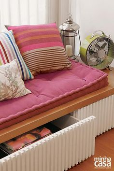 Revista MinhaCASA - Apartamento de 86m² com toque de cor e aconchego