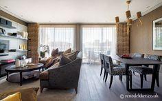 Rene Dekker Design - Modern Interior #luxuryinteriors #interiordesign #interiors www.renedekker.co.uk